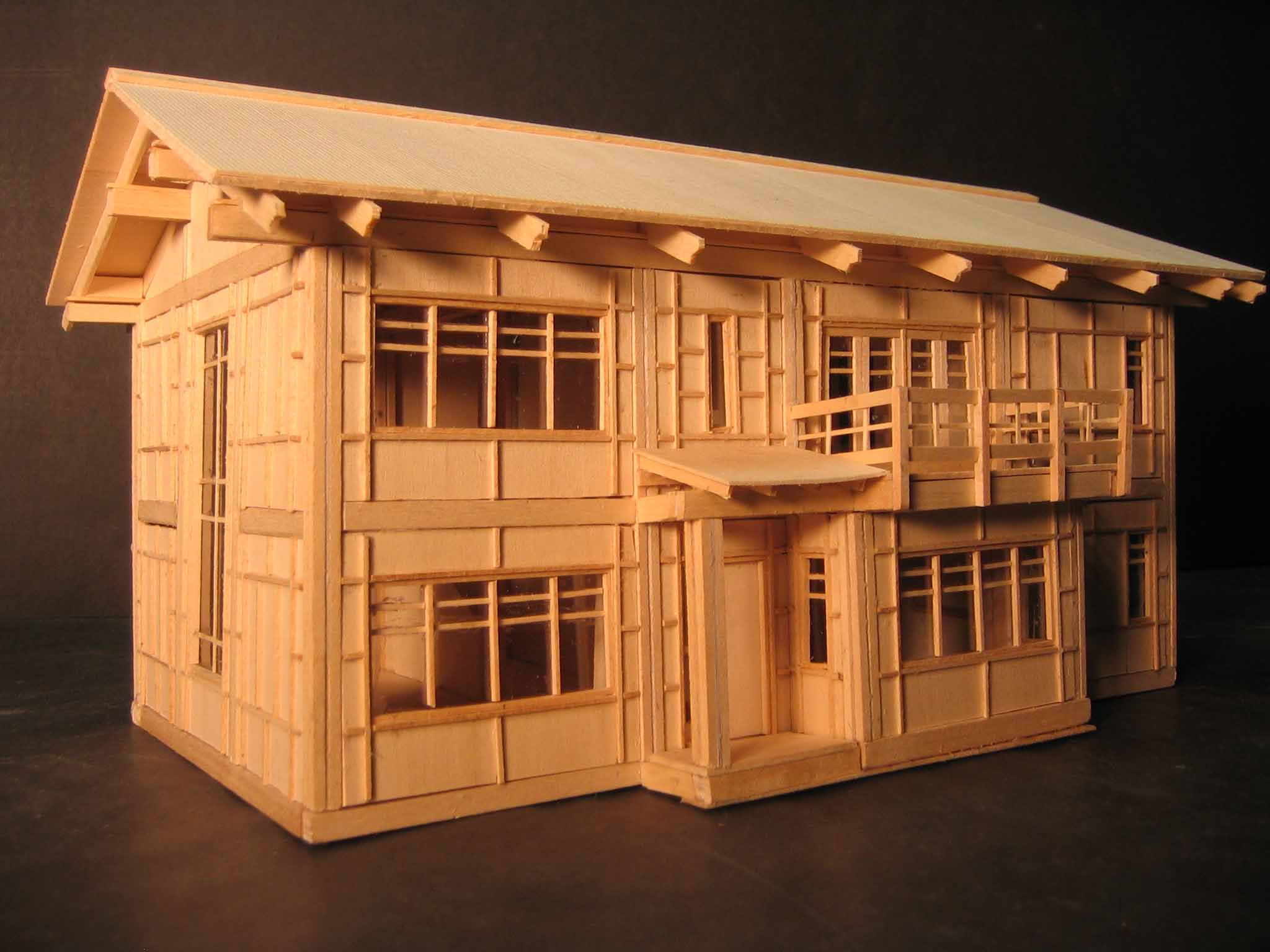 Ian wulfson design portfolio prefabricated timber for How to design a timber frame house